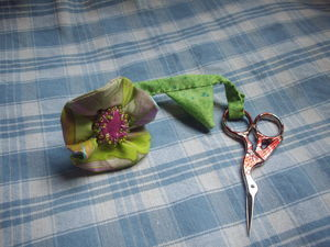 fleur ciseaux